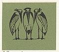 Vignet met drie exotische vogels, RP-P-OB-16.627.jpg