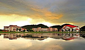 Education in Assam - Indian Institute of Technology Guwahati Panorama View