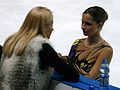 Viktoria Volchkova and Sofia Biryukova 2010 Cup of Russia.JPG