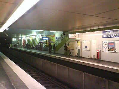 Villejuif - Louis Aragon (metropolitana di Parigi)