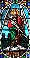 Villeréal - Église Notre-Dame - Vitrail du chevet - Partie supérieure -2.jpg