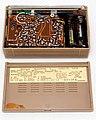 Vintage Hoffman Solar Transistor Radio, Model BP-709XS (Tan Case), AM Band, 9 Transistors, Made in Japan, Circa 1961 - 1962 (48374807362).jpg