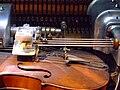 Violano Virtuoso's bow, Musical Museum, Brentford.jpg
