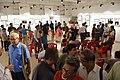 Visitors - Group Exhibition - PAD - Kolkata 2016-07-29 5390.JPG