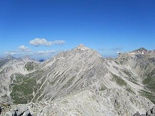 Vorderseespitze mountain