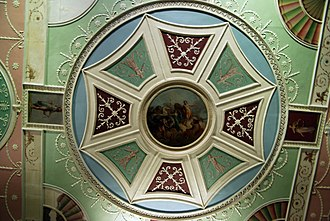 James Adam (architect) - Image: WLA vanda Robert Adam Ceiling roundel with octagon and Apollo and Horae