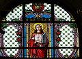 Waidhofen Thaya Pfarrkirche - Fenster Caecilia.jpg