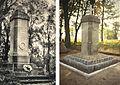 Wangerin Kriegerdenkmal früher und heute.jpg