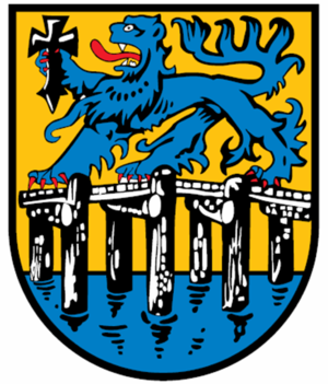 Lauenbrück - Image: Wappen Lauenbrueck