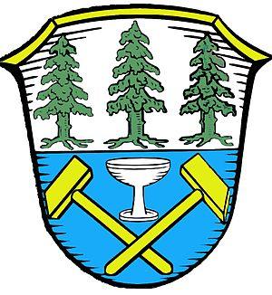 Fichtelberg, Bavaria - Image: Wappen Fichtelberg