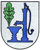 Coat of arms of the local community in Zimmigart