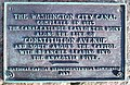 Washington City Canal plaque by Matthew Bisanz.JPG