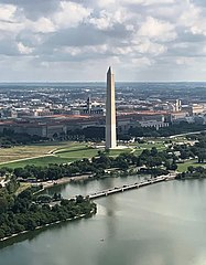 Washington Monument, Washington, D.C. from the air.jpg