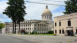 Washington State Capitol - John A. Cherberg, Legislative, and Irv Newhouse Buildings (cropped)