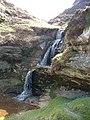 Waterfall in Glen Vale - geograph.org.uk - 9105.jpg
