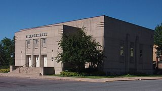 Waverly Village Hall (Waverly, Minnesota) municipal event hall in Waverly, Minnesota, United States, built by the Works Progress Administration (WPA) from 1939 to 1940