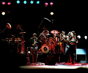 Grammy Award for Best Jazz Fusion Performance - 1980 award-winning group Weather Report, performing in 1981