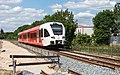 Wehl dubbelspoor in aanleg Arriva Spurt 366 als trein 30935 naar Winterswijk (17941645474).jpg