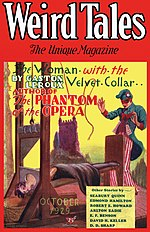 Weird Tales cover image for October 1929