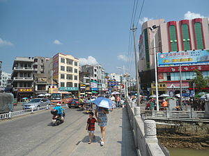 Wenchang - Downtown