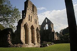 Wenlock Priory 12th century monastery