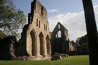 Wenlock Priory - Image: Wenlock Priory 1