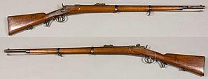 Werndl–Holub rifle - Image: Werndl M1867