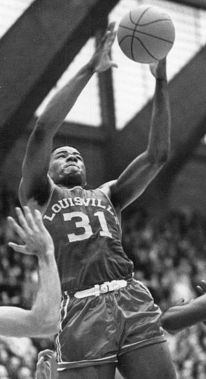 Wes Unseld - Unseld as a member of the Louisville Cardinals men's basketball team.