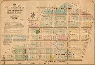 West Broadway - Origin of Laurens Street