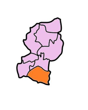 West Garo Hills district - Image: West Garo Hills Subdivisions Dalu