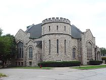 Westminster Congregational Church, Kansas City, Missouri. Looking southwest.jpg