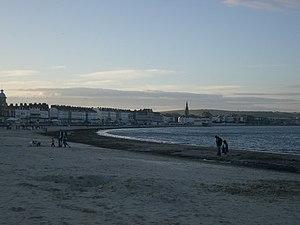 Weymouth Beach - Image: Weymouth Beach geograph.org.uk 372437