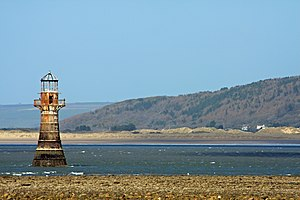 Whiteford Lighthouse - Whiteford Lighthouse, located near Whiteford Sands
