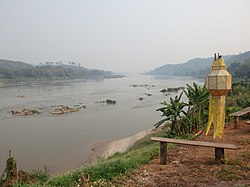 Mekong river, as seen from Chiang Khong