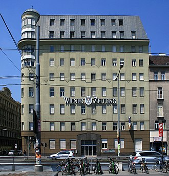 Wiener Zeitung - The current premises, in the centre of Vienna