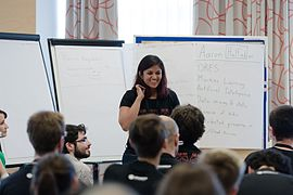 Wikimedia Hackathon Vienna 2017-05-19 Mentoring Program Introduction 022.jpg