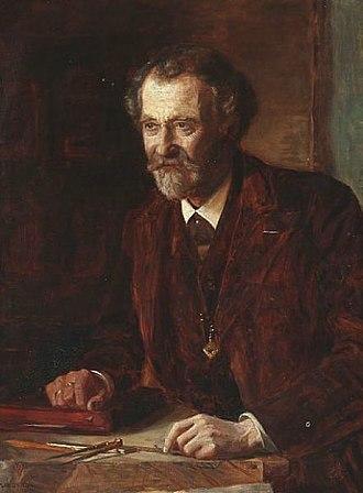 Vilhelm Dahlerup - Dahlerup painted by Luplau Jansen in 1903