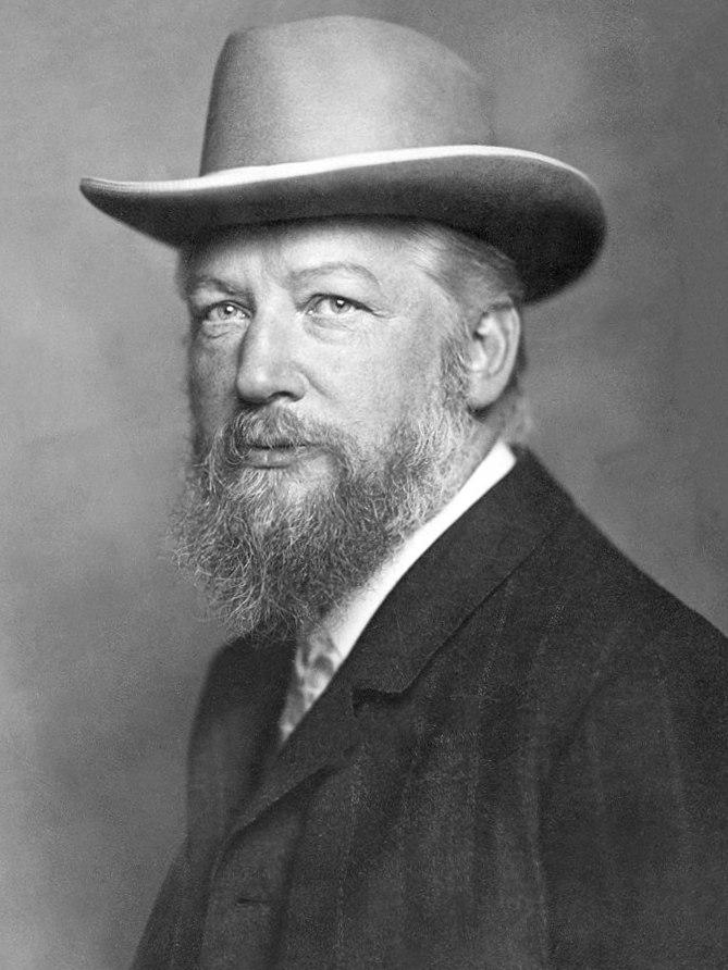 Wilhelm Ostwald by Nicola Perscheid