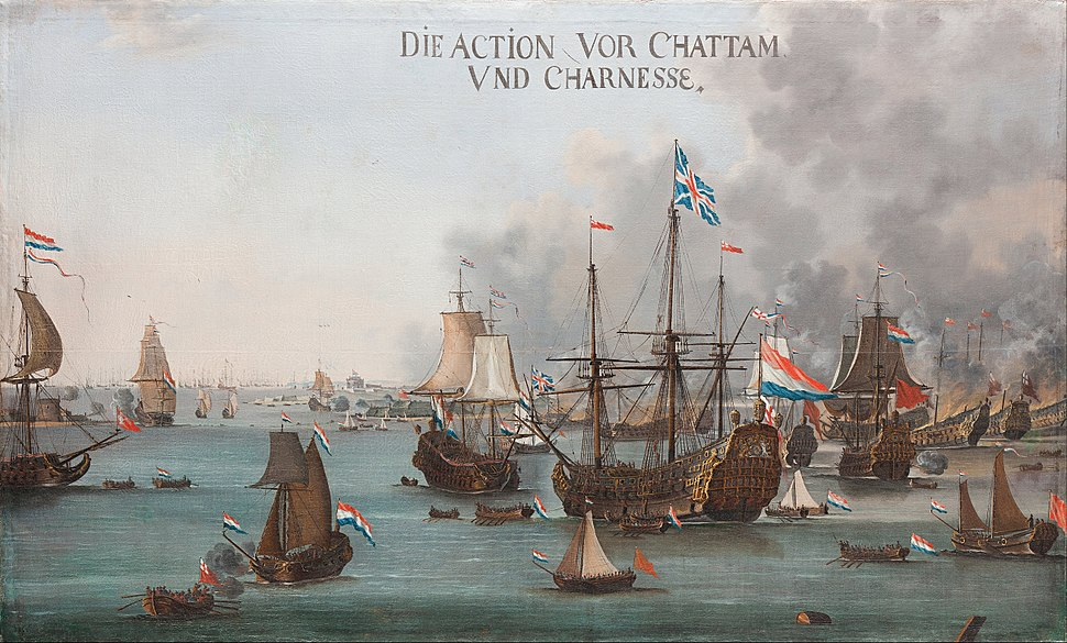 Willem van der Stoop - The Battle of Chatham - Google Art Project