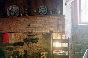 William H. Seward House - Image: William Sewardbasementkitche n