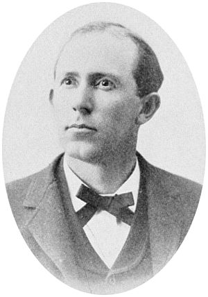 William B. Cornwell - Portrait of William B. Cornwell as a young lawyer, prior to 1897.