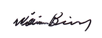 William Binney (U.S. intelligence official) - Image: William Binney signature