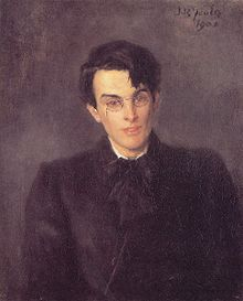 William Butler Yeats by John Butler Yeats 1900.jpg