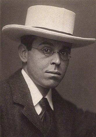 William Rothenstein - Sir William Rothenstein, photo by George Charles Beresford, 1902