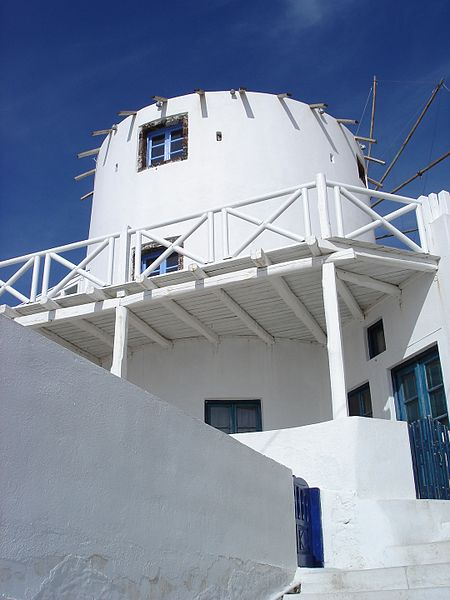 Αρχείο:Windmill in Firostefani.jpg