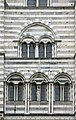 Windows (exterior) of Genoa Cathedral - Genoa 2014.JPG