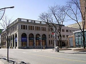 Media in Windsor, Ontario - Windsor Star newspaper's offices.