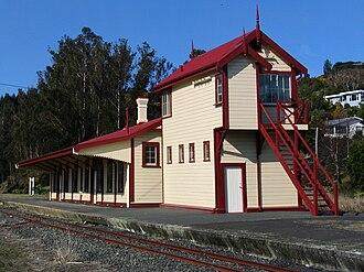 George Troup (architect) - Wingatui island platform type