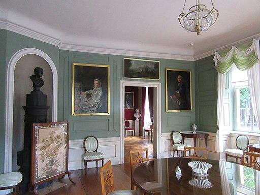 Grüner Salon im Wittumspalais in Weimar.