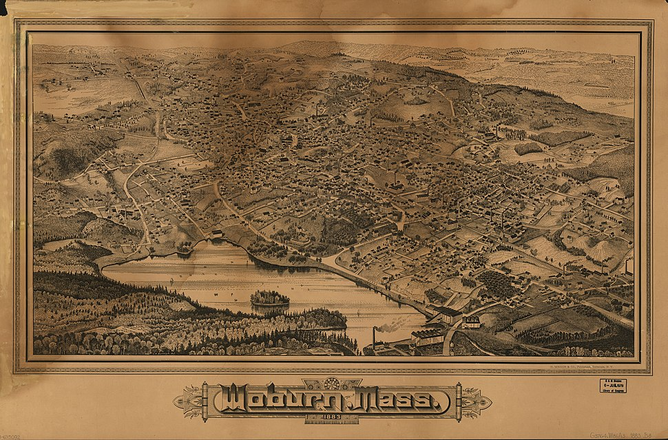 Woburn, Mass., 1883 LOC 78695092